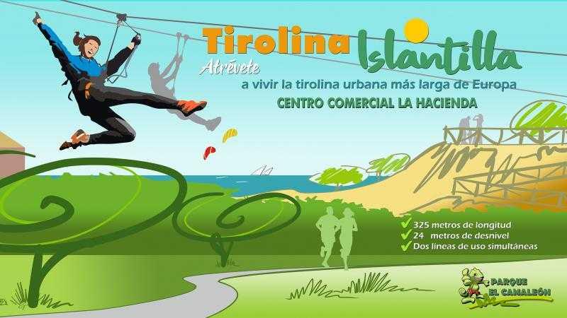 TIROLINA DE ISLANTILLA