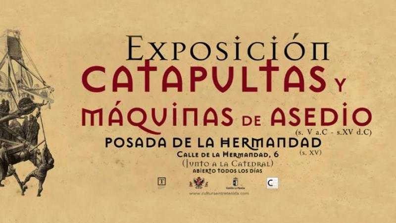 CATAPULTAS Y MAQUINAS DE ASEDIO