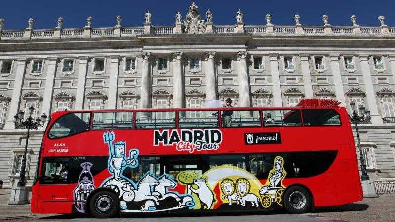 HOP ON - HOP OFF MADRID CITY TOUR