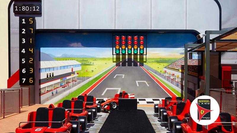 Ferrari Land 1 día