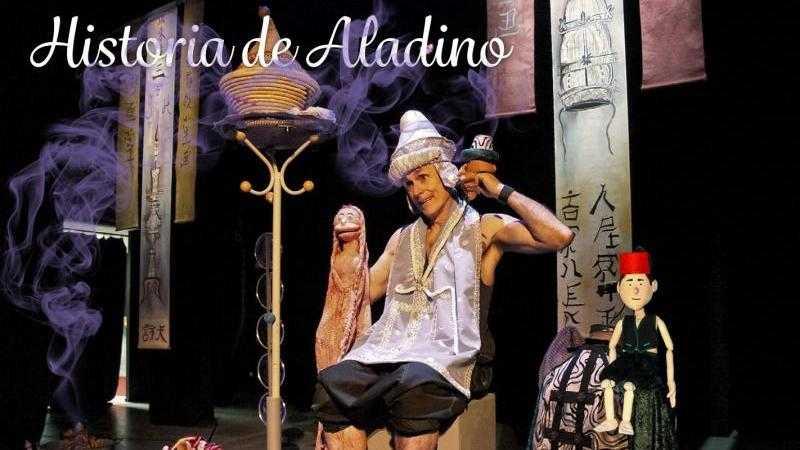 HISTORIA DE ALADINO - Teatro familiar