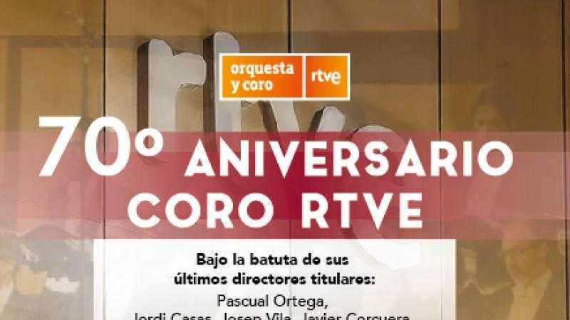 Concierto del 70º Aniversario del Coro RTVE