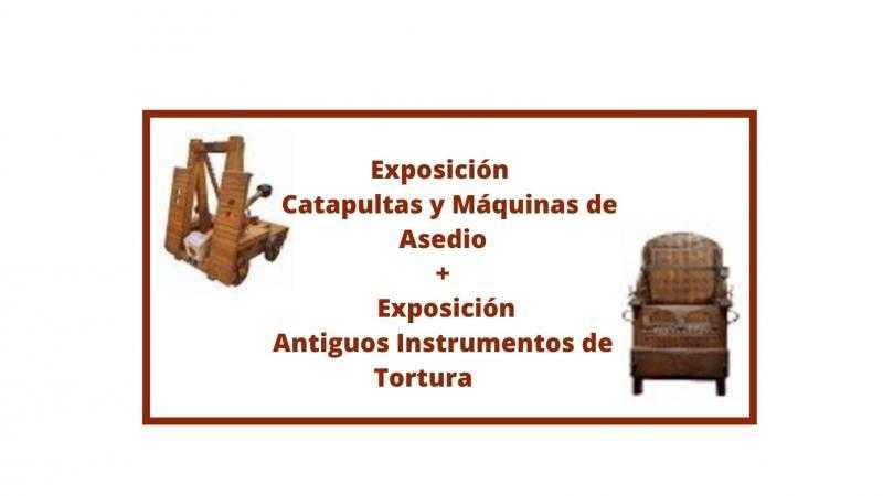 Catapultas y Maquinas de Asedio / Antiguos Instrumentos de Tortura