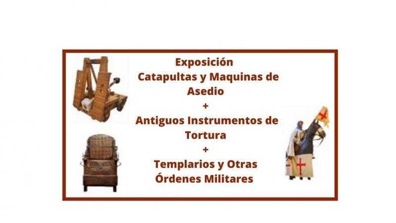 Catapultas  / Antiguos Instrumentos de Torturas / Templarios