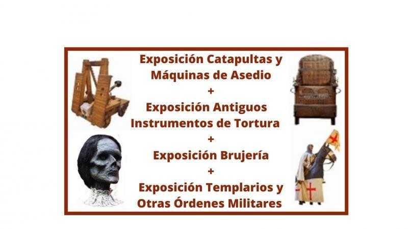 Catapultas  /  Instrumentos de Tortura / Brujería / Templarios