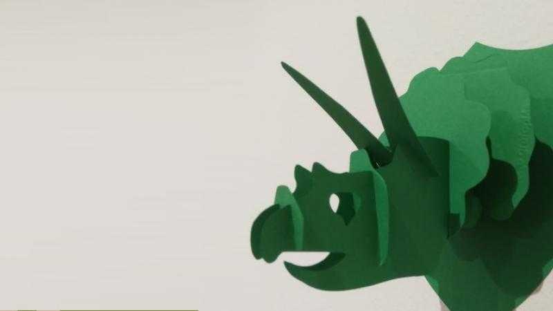 Construye tu cabeza de dinosaurio