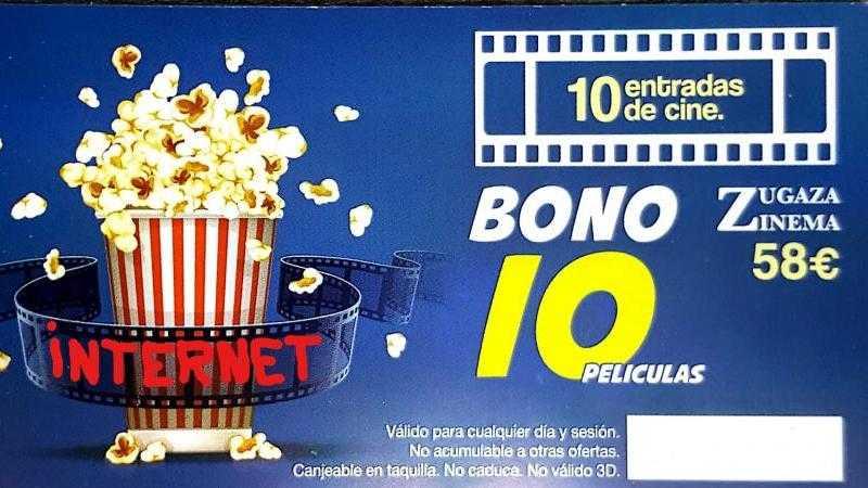 BONO 10 Películas.