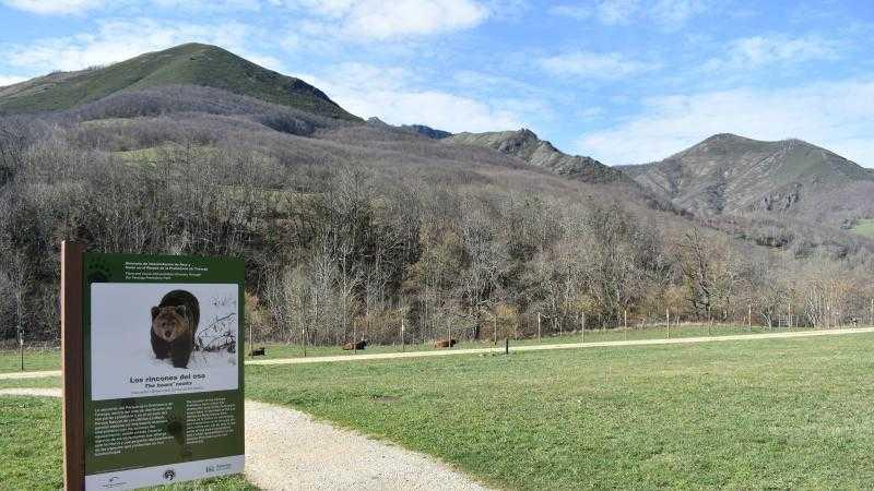Visitas al itinerario de interpretación de la flora y fauna