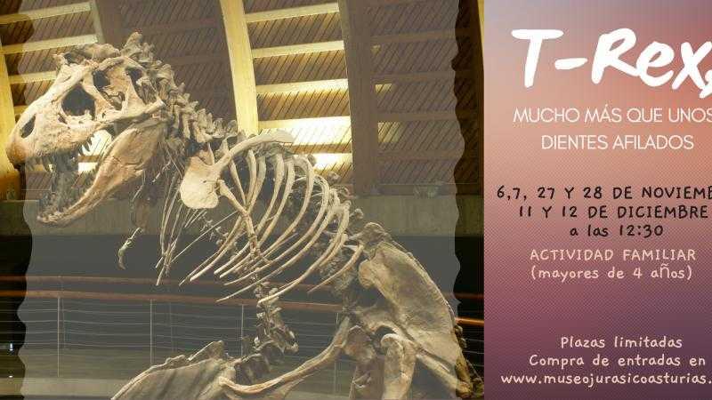 T-Rex, mucho más que unos dientes afilados