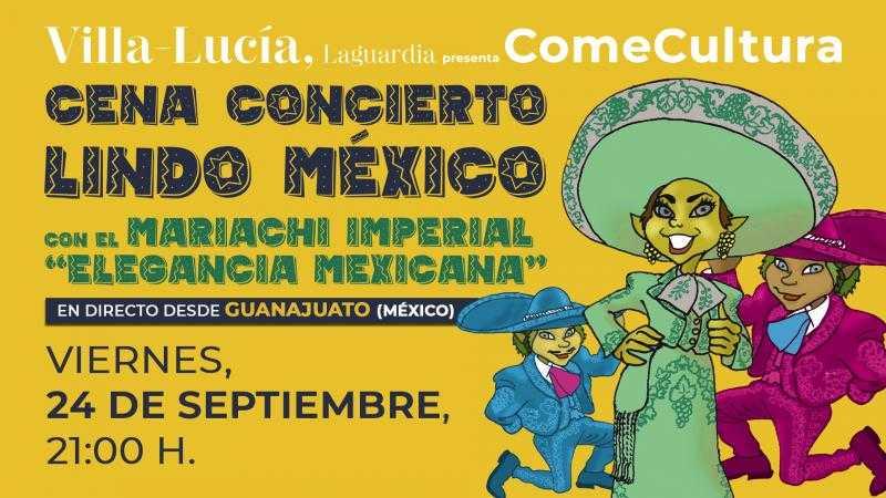 Cena Concierto: Lindo México