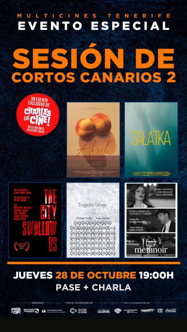 SESIÓN DE CORTOS CANARIOS 2