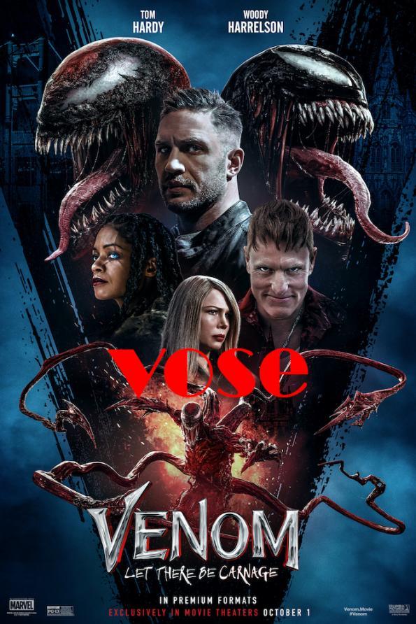 VOSE Venom: Habrá Matanza