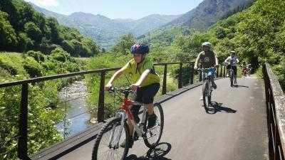 Descenso de la Senda del Oso en Bici