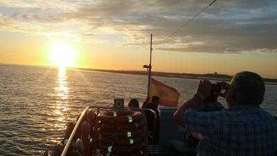 Flechamar. Paseo en barco con gambas y vino
