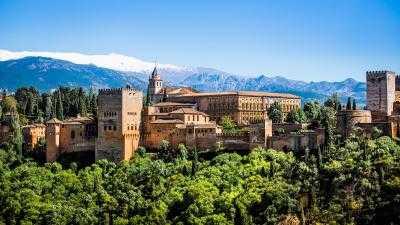 Excursión de un día Semi-Privado a Granada y a la Alhambra
