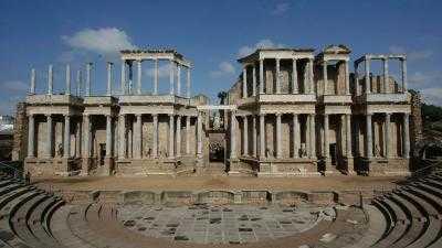 Monumental Set mit Guide für Teatro-Amphitheater