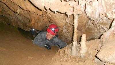 Espeleología Cueva Huerta