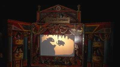 Teatro de sombras en la Cuevona