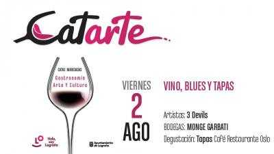VINO, BLUES Y TAPAS