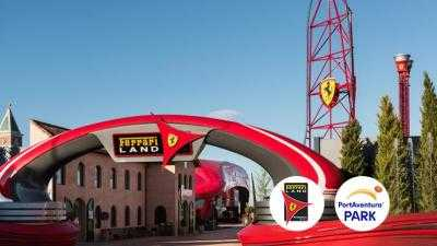Ferrari Land 2 días 2 parques