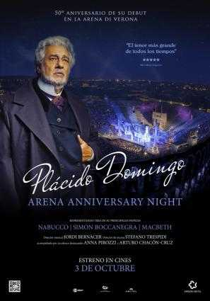 Plácido Domingo Arena di Verona Gala 50 aniversario