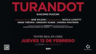 TURANDOT TEATRO REAL DE MADRID