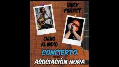 Chino el Indio y Gary Parfitt en concierto por la Asociación Nora