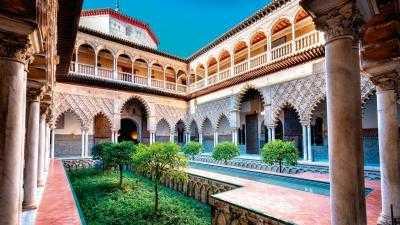 Бесплатный вход родился или резидентов в Севилье столице