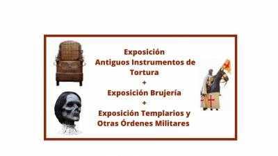Antiguos Instrumentos de Tortura / Brujería / Templarios