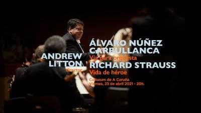 , ORQUESTA SINFÓNICA DE GALICIA-  (Nuñez Carbullanca, Strauss - Programa 21)