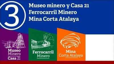 Museo Minero +  Casa 21 + Ferrocarril + Corta Atalaya