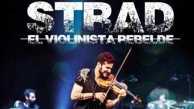 STRAD – EL VIOLINISTA REBELDE - 21:30 TELONERO: JJ FUENTES