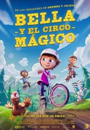Cartel de BELLA Y EL CIRCO MÁGICO